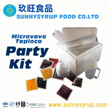 Microwave Frozen Tapioca Pearls Kit - MTP10